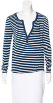 Pam & Gela Striped Long Sleeve Top w/ Tags