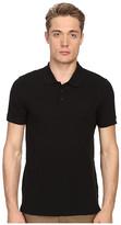 Vince Short Sleeve Slub Polo Shirt
