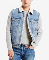 Levi's Sherpa Denim Trucker Vest