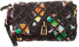Marc Jacobs Leather-Accented Wristlet