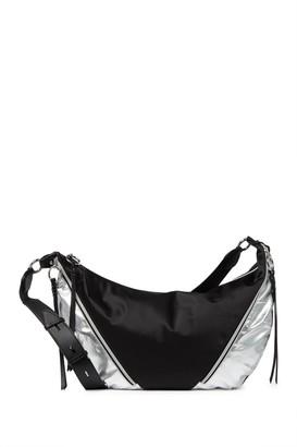 Rebecca Minkoff Metallic Nylon Hobo Bag