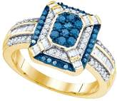 DazzlingRock Collection 3/4 Total Carat Weight DIAMOND FASHION RING
