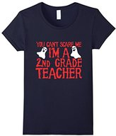Women's You can't scare my I'm a second grade teacher shirt XL