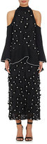 Proenza Schouler WOMEN'S EMBELLISHED COLD SHOULDER GOWN