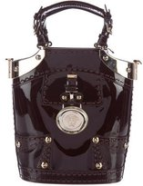 Versace Patent Leather Handle Bag