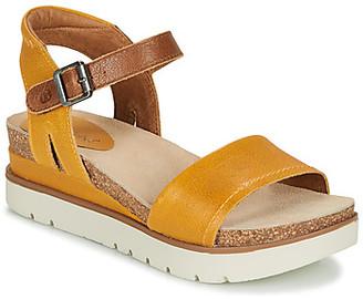 Josef Seibel CLEA 01 women's Sandals in Yellow