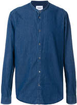 Dondup mandarin collar denim shirt