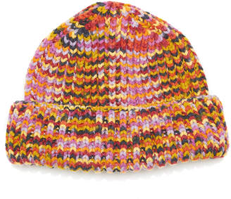 Missoni Rib-Knit Cashmere Beanie
