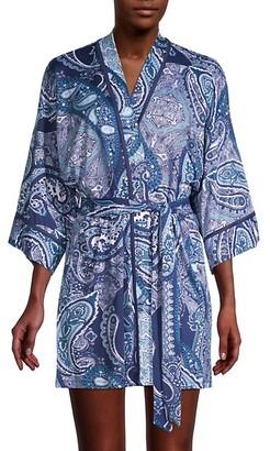 In Bloom Paisley-Print Robe