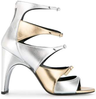 Pierre Hardy multiple front straps sandals