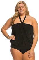 Miraclesuit Plus Size Solid Mojito Tankini Top 8137936