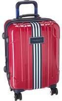 """Tommy Hilfiger Reji Stripe 20"""" Upright Suitcase"""