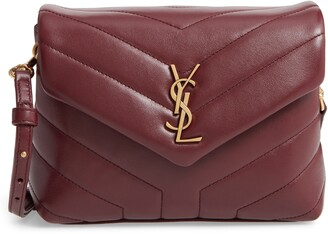 Saint Laurent Toy Loulou Matelasse Leather Crossbody Bag