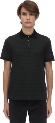Salvatore Ferragamo Gancini Cotton Polo Shirt