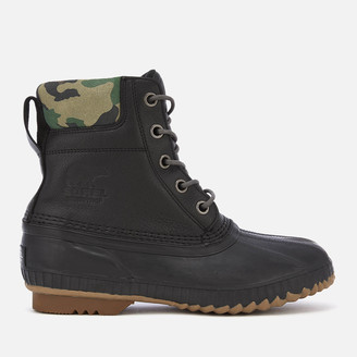 Sorel Men's Cheyanne II Premium Lace Up Boots - Black