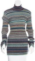 Missoni Striped Turtleneck Sweater