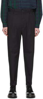 Engineered Garments Black Carlyle Trousers