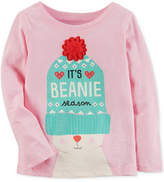 Carter's Beanie-Print Cotton T-Shirt, Little Girls & Big Girls