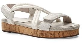 Schutz Women's Demmy Strappy Platform Sandals