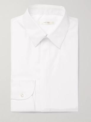 The Row Ethan White Cotton Shirt