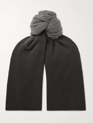 Incotex Degrade Virgin Wool Scarf - Men - Gray