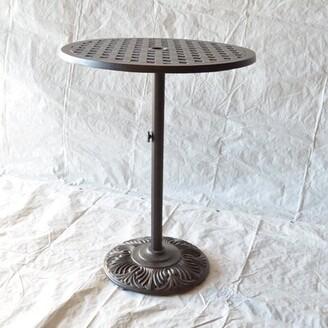 Nola Metal Bar Table Darby Home Co