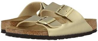 Birkenstock Arizona Birko-Flortm (Gold Birko-Flortm) Women's Sandals