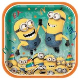 Despicable Me Minions Dinner Plate 8 CT