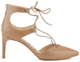 Sam Edelman Women's Taylor Leather Lace Up Court Shoes Golden Caramel
