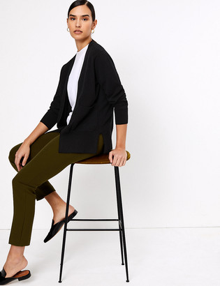 Marks and Spencer Pure Cashmere Relaxed Longline Cardigan