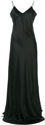 Nili Lotan Slip Maxi Dress