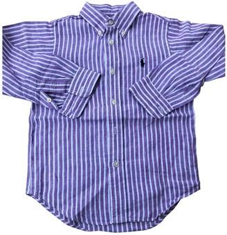 Ralph Lauren Purple Linen Tops