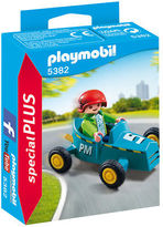 Playmobil NEW Boy With Go-Kart Playset 2pce