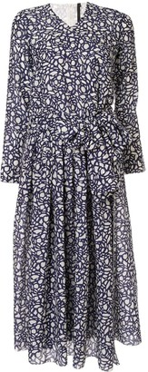 Sara Lanzi Patterned Dress