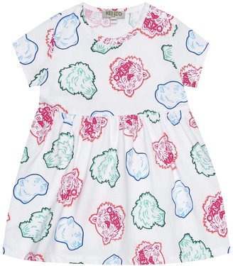 Kenzo Baby printed cotton dress