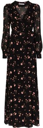Reformation Shanti floral-print wrap dress