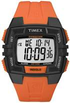 Timex T49902 45mm Resin Case Orange Resin Mineral Men's Watch