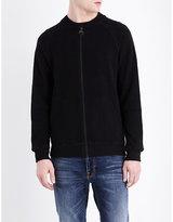 Barbour Brake Zip-up Wool-blend Jacket