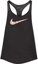 Nike Flow Dri-fit Stretch-jersey Tank - Black