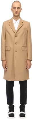 Burberry Single Breast Wool & Cashmere Coat