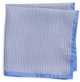 Eton Men's Chain Print Silk Pocket Square