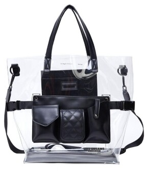 Like Dreams Clear Retro Tote Bag