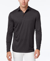 Tasso Elba Men's Performance UV Protection Long-Sleeve Polo