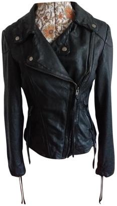 Muu Baa Muubaa Black Leather Jackets