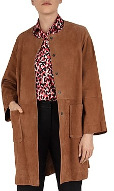 Gerard Darel Gianna Suede Coat