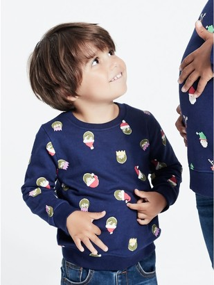 M&Co Brussel sprout Christmas sweatshirt (9mths-5yrs)