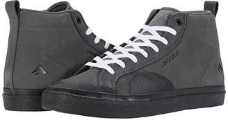 Emerica Omen Hi X Santa Cruz (Grey/Black) Men's Shoes