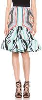 Peter Pilotto Short Sofia Skirt in Aqua