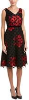 Donna Ricco Women's Sleeveless Printed A-Line Dress