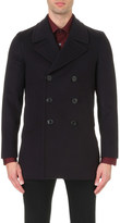 Paul Smith Double-breasted wool and cashmere-blend peacoat